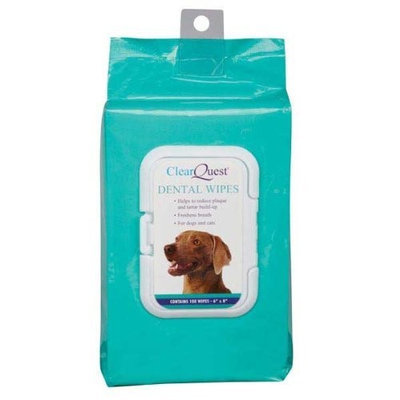 ClearQuest Pet Dental Wipes, 100-Pack