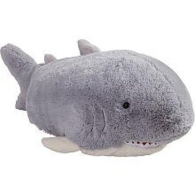 MyPillowPets Pillow Pets Grey Pillow Pet- PeeWee Shark - 11