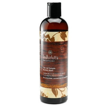 Bodhichitta Botanicals Sacred Temple Bubble Bath, 12 Ounce
