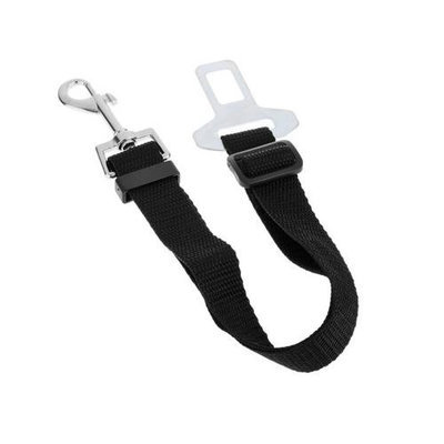 Cellbatt Universal Adjustable Pet Car Seat Belt [Black] Keep Your Dog Safely Restrained While Driving!