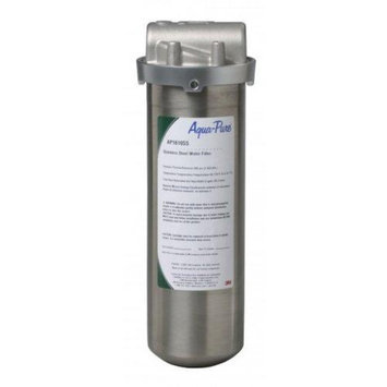 AquaPure AP1610SS Whole House Filter Water Filtration; Stainless Steel