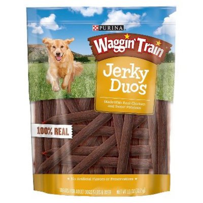 Waggin' Train Waggin Train Jerky Duos Chicken 11 oz