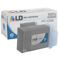 LD Compatible Replacement for Canon 6629B001AA (PFI-106B) Blue Ink Cartridge for use in Canon ImagePROGRAF iPF6300, iPF6300S, iPF6350, iPF6400, iPF6400S, iPF6400SE, and iPF6450 Printers