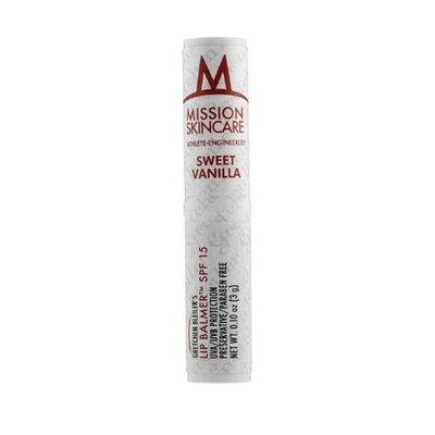 MISSION Skincare Lip Balmer, Sweet Vanilla (Gretchen Bleiler's), 0.10-Ounce Unit