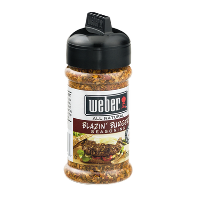 Weber All Natural Seasoning Blazin' Burger