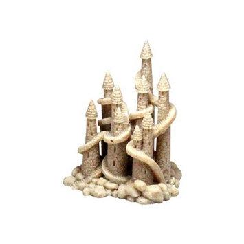 Blue Ribbon Pet Products Resin Ornament - Sand Castle Village Large