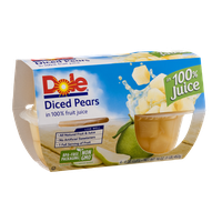 Dole Diced Pears - 4 CT