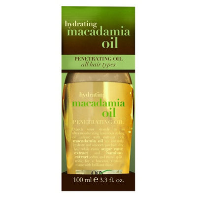 OGX® Moisturizing Macadamia Oil Dry Styling Oil