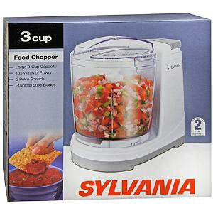 Sylvania Food Chopper 3 Cup