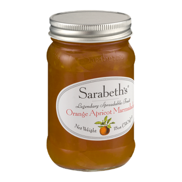 Sarabeth's Legendary Spreadable Fruit Orange Apricot Marmalade