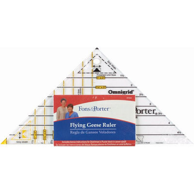 Dritz Fons Flying Geese Triangle - DRITZ CORPORATION