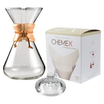 Thirteen Cup Handblown Glass Coffeemaker - 13 Cup Coffee Maker - Chemex - CM-4