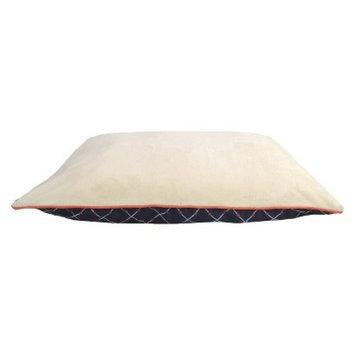 Boots & Barkley XL Pillow - Ikat Lattice Navy/Coral