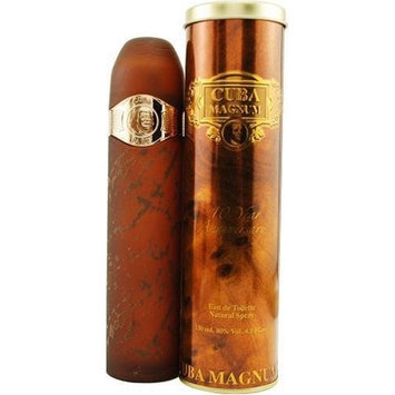 Cuba Magnum Gold By Cuba For Men, Eau De Toilette Spray, 4.3-Ounce Bottle