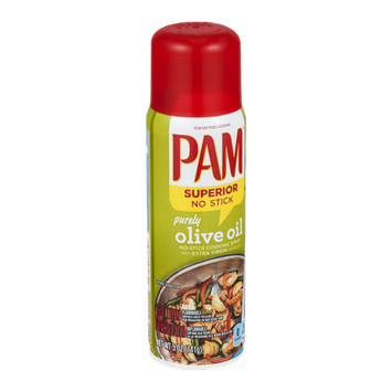 Pam No-Stick Cooking Spray Purely Olive Oil