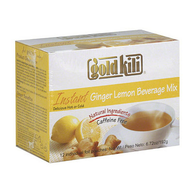 Gold Kili Instant Ginger Lemon Beverage Mix