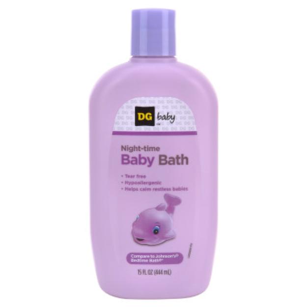 DG Baby Nighttime Baby Wash - 15 oz