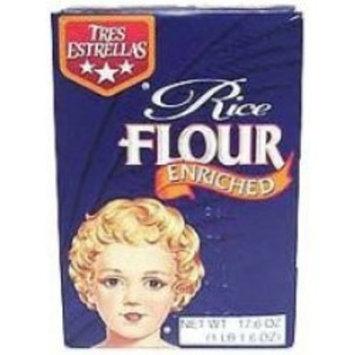 Goya Tres Estrellas Enriched Rice Flour, 17.64 Ounce -- 12 per case.