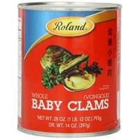 Roland Whole Baby Clams