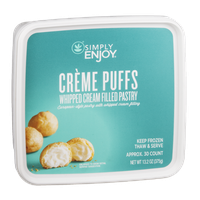 Ahold Simply Enjoy Creme Puffs Whipped Cream Filled Pastry - 30 CT