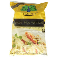 Peacock Brown Rice Vermicelli, 7-Ounce Packages (Pack of 12)