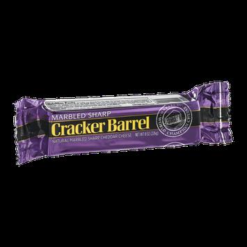 Cracker Barrel Natural Cheddar Cheese Marbled Sharp