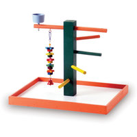 Prevue Pet Products Bird Playpen - Orange (Medium)