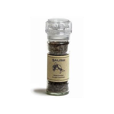 Saltworks Salish - Alderwood Smoked Salt - 4 oz. Grinder Top Jar