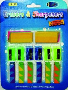 DDI 1284941 Eraser & Sharpener Combo pack - 14 count Case Of 48