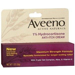Aveeno Maximum Strength Anti-Itch Cream