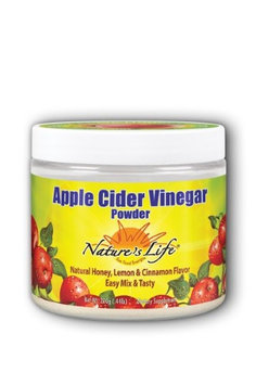 Apple Cider Vinegar Powder Honey Lemon Nature's Life 200g Powder