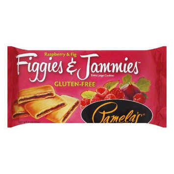 Pamela's Products Figgies & Jammies Extra Large Cookies Gluten Free Raspberry & Fig 9 oz