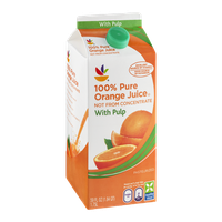 Ahold 100% Pure Orange Juice Not from Concentrate with Pulp
