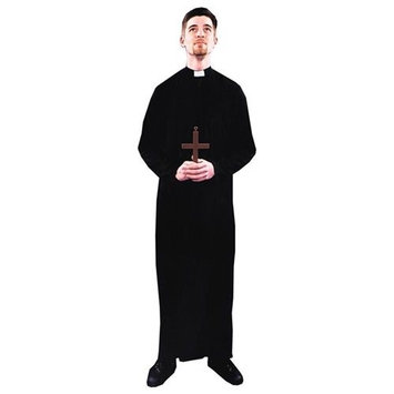 Costumes For All Occasions Ac96 Priest Costume 1 Sz