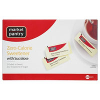 market pantry Market Pantry Sugar Substitute with Sucralose - 200 ct