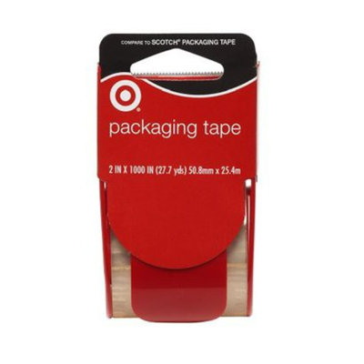 up & up up&up Packaging Tape 2in x 100in