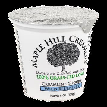 Maple Hill Creamery Creamline Yogurt, 100% Grass-Fed, Organic, Wild Blueberry