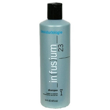 Infusium 23 Shampoo Moisturizing for Normal to Dry Hair, 16-Ounce Bottles (Pack of 3)