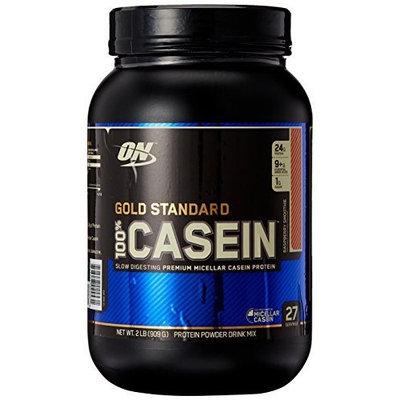 Optimum Nutrition 100% Casein Protein, Raspberry Smoothie, 2 Pound