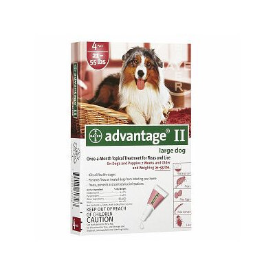 Advantage II Flea & Lice Treatment for Dogs
