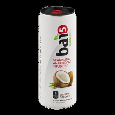 Bai 5 Bubbles Spartkling Antioxidant Infusion Waikiki Coconut