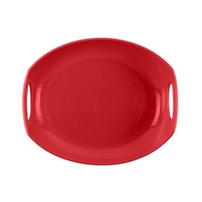 Dansk Dinnerware, Classic Fjord Chili Red Platter