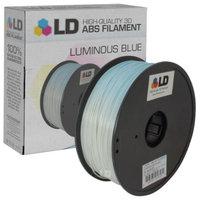 LD Luminous Blue 1.75mm ABS Filament for 3D Printers