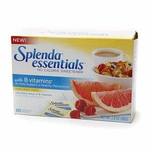 Splenda Essentials No Calorie Sweetener with B Vitamins