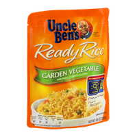 Uncle Ben's Ready Rice Garden Vegetable with Peas, Carrots & Corn
