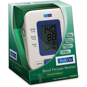 RELI ON RELION RELI-ON AUTOMATIC BLOOD PRESSURE MONITOR HEM-741