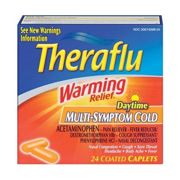 Theraflu Warming Relief Daytime Caplets-24 ct