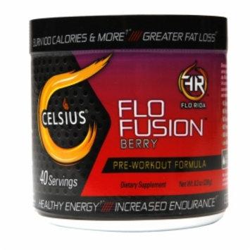 Celsius - Flo Fusion Pre-Workout Formula Berry 40 Servings - 8.3 oz.