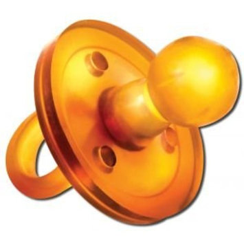 The UMMY: BPA-free 100% Natural Rubber Pacifier with Round Nipple, 3-6 Months