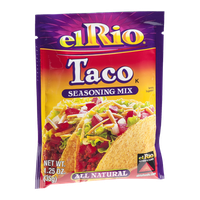 El Rio All Natural Seasoning Mix Taco